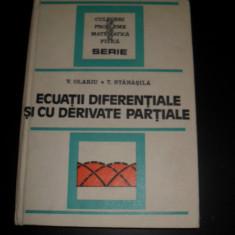 Ecuatii Diferentiale Si Cu Derivate Partiale - N.teodorescu V.Olariu