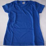 T Shirt - Tricou - Dama - Fruit of The Loom  ---  Albastru