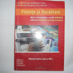 Finante si fiscalitate Manual pentru clasa a XII a, 21 - Manual scolar cd press, Clasa 12, CD Press