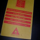 Culegere de probleme de Geometrie pentru clasele V-VIII, Gheorghe Adalbert Schneider - Culegere Matematica