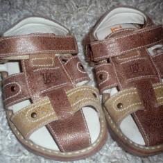 Sandale nr 24 - Sandale copii Melania, Culoare: Maro