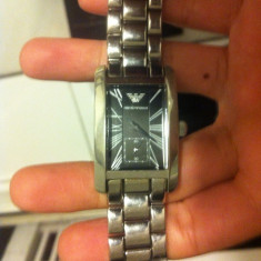 Vand ceas barbatesc Emporio Armani original in cutie cu toate accesoriile, Mecanic-Automatic, Inox, Analog, 2000 - prezent