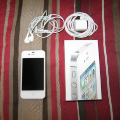 Vand iPhone 4 Apple white, Alb, 16GB, Neblocat