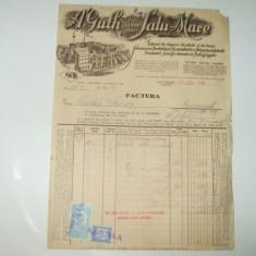 Factura Satu-Mare, 1932, Fabrica de dopuri de pluta si de lemn - Cartela telefonica romaneasca