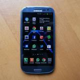 Telefon mobil Samsung I9300 GALAXY S3, 16GB, Blue, Folosit aproximativ 5 luni