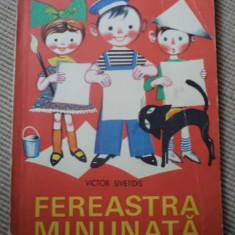 FEREASTRA MINUNATA victor sivetidis ilustrata desene carte povesti pentru copii - Carte de povesti
