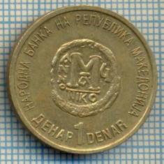 1152 MONEDA -MACEDONIA - 1 DENAR -anul 2000 -starea care se vede