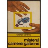 MISTERUL CAMEREI GALBENE DE GASTON LEROUX ,ROMAN POLITIST,COLECTIA ENIGMA,EDITURA PENTRU LITERATURA UNIVERSALA 1969