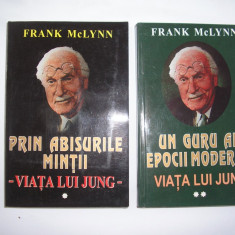 VIATA LUI JUNG-PRIN ABISURILE MINTII-UN GURU AL EPOCII MODERNE- FRANK MC LYNN- - Carte Monografie