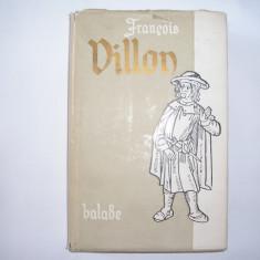 FRANCOIS VILLON - BALADE SI ALTE POEME 1956, s7 - Carte poezie