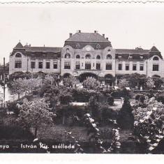 CP Baia Mare-Nagybanya, hotel Istvan Kiraly, aprox 1940, circulata dupa 1947, Fotofilm Kolozsvar