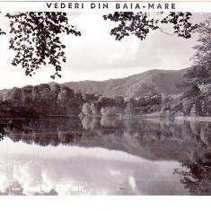 CP, Baia Mare-Baia Sprie-Nagybanya-Felsobanya, aprox 1940, lacul Bodi, Fotofilm Kolozsvar