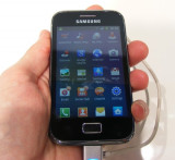 Samsung Galaxy Ace Plus S7500, 2GB, Negru, Neblocat