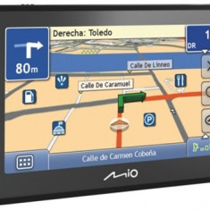 Mio Moov 500 second hand - deblocat (la alegere) iGO 8 / iGO Primo harta Full Europa Mio Technology, Toata Europa, Pda cu GPS inclus, Redare audio: 1, Sugestii multiple de cai: 1, Touch-screen display: 1