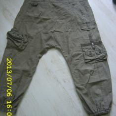 Pantaloni harem superbi ONLY, Khaki, L