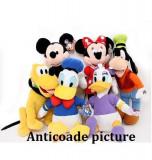 Mickey Mouse Club Set 6 PIESE.Donald Daisy, Gufi Pluto Mikey si Minie muzicale, Disney
