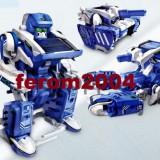 Robot solar, de culoare albastru, jucarie constructiva, CSL 2019 - Joc board game