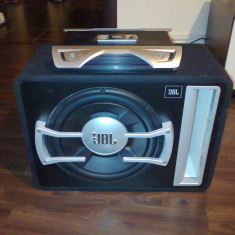 Vand Subwoofer JBL GTO 1204BR + Amplificator JBL GTO 752 - Pachete car audio auto