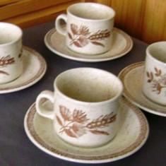 Set / Serviciu - ceai / cafea - portelan Englezesc - 4 persoane - Churchill - 1960, Seturi