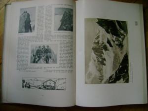 Deutsche Alpenzeitung DAZ periodic german Alpes Alpen reportaje viata lumea germana munti berg Alpi Alpii si din intreaga lume 1908 300 ilustratii