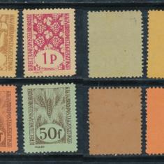 RFL 1945 ROMANIA Transilvania de Nord Oradea II 6 timbre diferite neuzate FB - Timbre Romania, Nestampilat