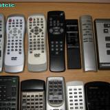 14 telecomenzi pentru aparate audio