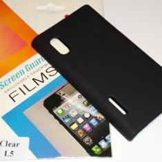 Husa Capac Carcasa Protectie Hard case LG Optimus L5 + CADOU Folie de protectie - Husa Telefon
