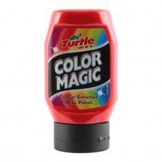 Polish Auto Rosu Color Magic Turtle Wax pentru Vopsea Neglijata Matuita
