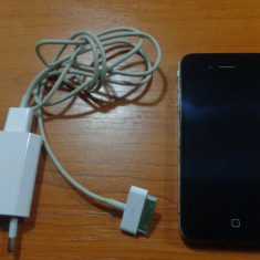 Vand iPhone 4 Apple Black 16 Gb, Negru