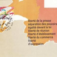 1565 - Elvetia carte maxima 1998