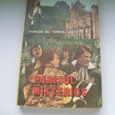 PARISUL MISTERIOS PONSON DU TERRAIL - Carte de aventura