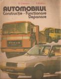 LOT 2 CARTI AUTOMOBILE - - ARTA DE A CONDUCE AUTOMOBILUL (1980) + AUTOMOBILUL: CONSTRUCTIE, FUNCTIONARE, DEPANARE (1986) - (bogat ilustrate)