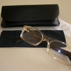Rame de ochelari ARMANI - Rama ochelari Giorgio Armani, Unisex, Maro, Dreptunghiulare, Rama intreaga