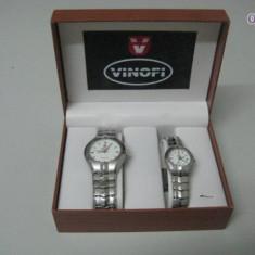 Ceasuri de mana VInofi - Ceas barbatesc Noon Copenhagen, Elegant, Mecanic-Automatic, Inox, Analog