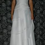 Rochie de mireasa voal - Rochie de mireasa printesa
