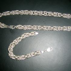 Set argint cu lant si bratara - Set bijuterii argint