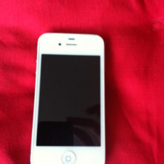 Apple Iphone 4 32 gb neverloked, Alb, Neblocat