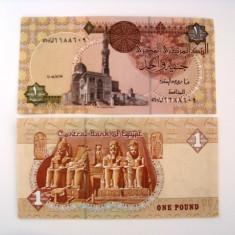 EGIPT 1 POUND 2008 UNC - bancnota africa