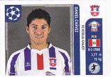 Abtibild Panini Chavez Otelul Galati UEFA Champions League 2011-2012