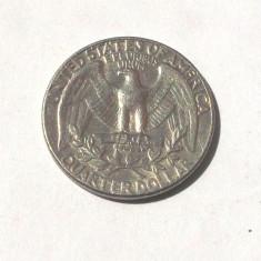 G2. USA / SUA QUARTER 25 CENTS CENTI 1974 D **, America de Nord