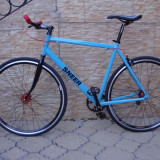 Bicicleta single speed SNEER custom. Pentru fixed gear si freewheel. - Bicicleta de oras, 21 inch, 28 inch, Numar viteze: 1, Aluminiu, V-brake