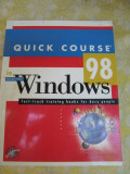 Quick course windows 98