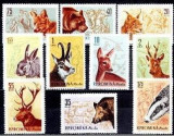 Romania 1961 - Vanatoarea serie completa,neuzata