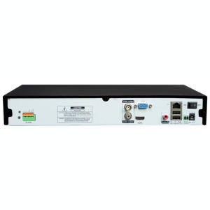 NVR Standalone 4CH 1080P Video Live View, Network Video Recorder NVR-5004V