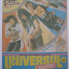 Universul copiilor nr. 33-34/1990 Elvis Presley Rock - Revista scolara