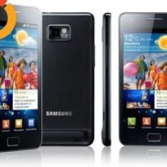 Samsung Galaxy S2 - Telefon mobil Samsung Galaxy S2, Negru, 16GB