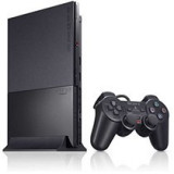 Consola Sony PlayStation 2 Slim model SCPH-90004, manete si card de memorie de 8 Mb incluse