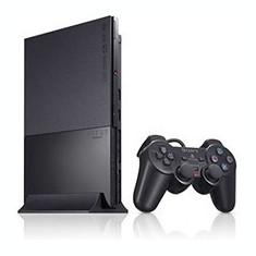 Consola Sony PlayStation 2 Slim model SCPH-90004, manete si card de memorie de 8 Mb incluse