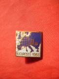 Insigna -Campionate Europene Volei Bucuresti 1963