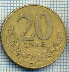 1463 MONEDA  - ALBANIA(REPUBLIKA E SHQIPERISE)  - 20 LEKE -anul  1996 -starea care se vede